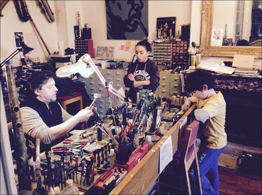 Réparateur de saxophones spécialisé paris