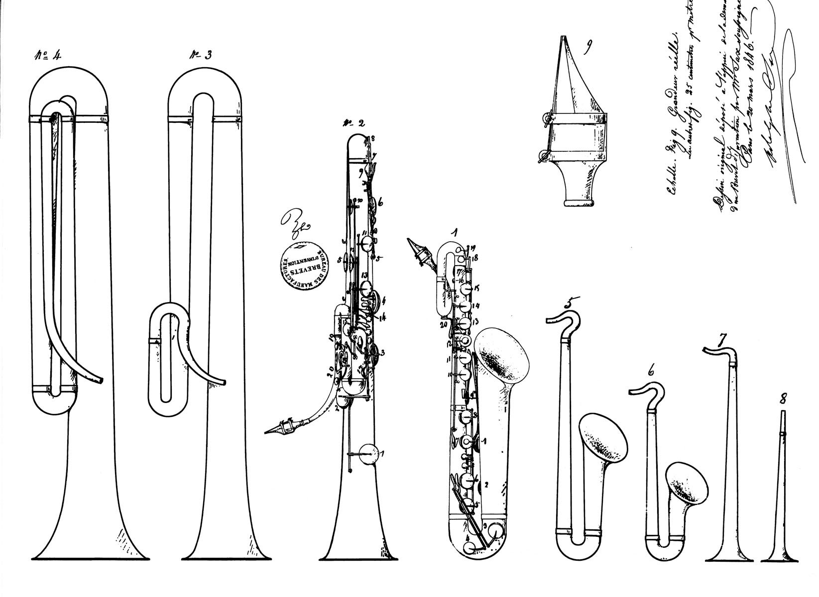 Adolf sax instrument à vent - les origines