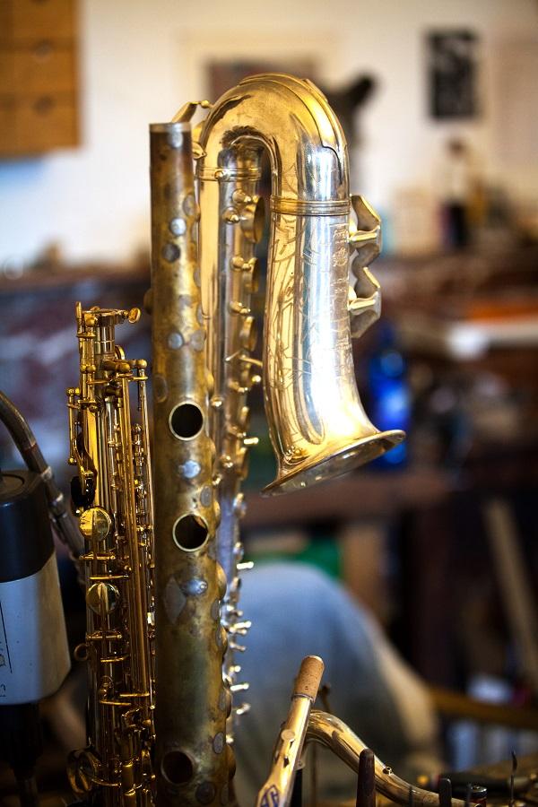 Réparation de Saxophone